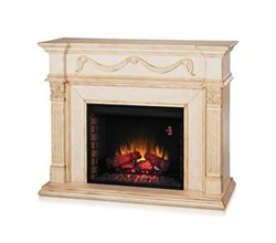 28 Inch Fireplace Mantels classicflame 28wm184 t408