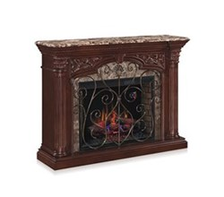 32 to 47 Inch Fireplace Mantels classicflame 33wm0194 c232